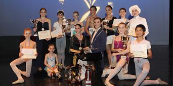Résultats du Ballet Studio Marius au concours de Toulon 2016