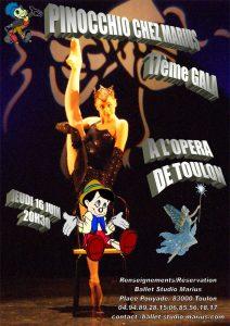 Pinocchio chez Marius (16 juin 2011)
