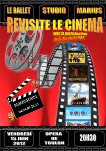 Le Ballet STudio Marius revisite le cinéma (15 juin 2012)