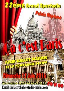 22ème Grand Spectacle : ça c'est Paris !