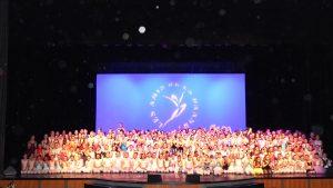 Les danseurs du concours international de danse classique de Toulon (2014)