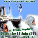 Marius danse la mer au Palais Neptune