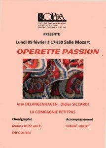 Operette passion février 2009