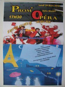 Prom Opéra fait sa comédie mars 2010