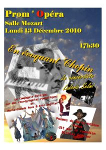 En évoquant Chopin décembre 2010