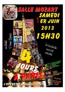 4 jours à Paris juin 2013