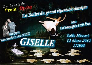Spectacle Gisèle (2015)