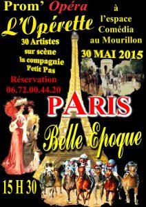 Paris Belle Epoque mai 2015