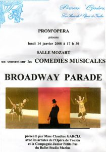 Broadway Parade janvier 2008