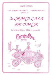 Gala Cendrillon juin 1996
