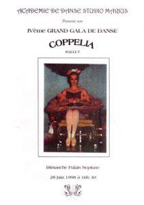 Gala Coppelia juin 1998