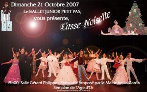 Casse Noisette octobre 2007