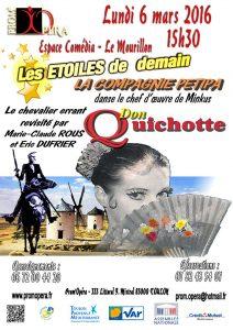 Affiche de Don Quichotte 2017