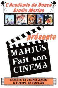 Gala Marius fait son cinéma juin 2001