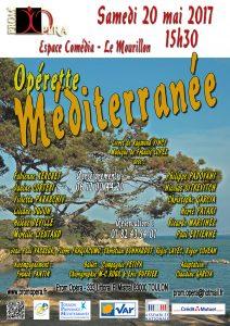 Opérette Méditerranée (2017) Affiche