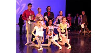 Les résultats du 17ème Concours International de Danse Classique de Toulon