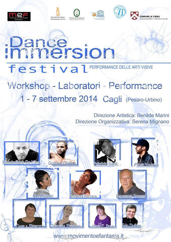 Ballet Studio Marius invité à Cagli (Italie)