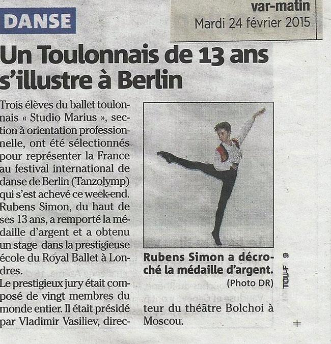 Rubens SIMON à Berlin
