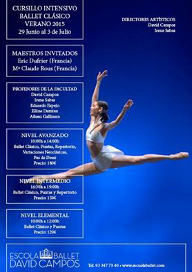 Ballet Studio Marius invité par David Campos