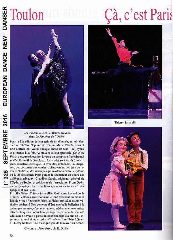 22ème gala du Balet Studio Marius