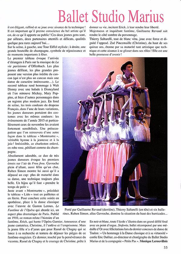 22 eme gala du Ballet Studio Marius
