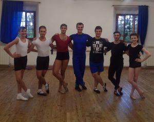 Le Ballet Studio Marius invité au stage de Cagli en Italie