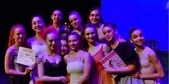 Les résultats du Ballet Studio Marius au 16ème concours de Toulon