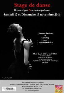 Stage de danse classique à Marseille