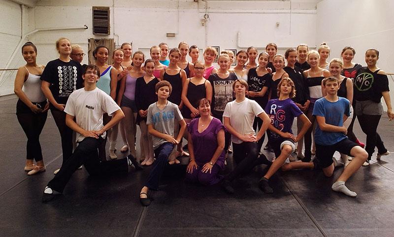 Ballet Studio Marius en stage en Belgique