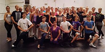 Ballet Studio Marius invité en Belgique 2014