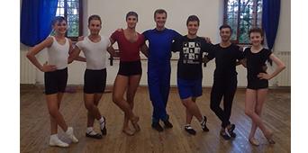 Ballet Studio Marius invité à Cagli