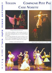 European Dance News avril 2012