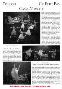 European Dance News février 2013