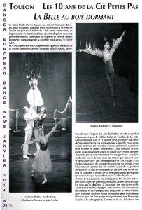 Les 10 ans de la Cie Petipa European Dance News janvier 2014