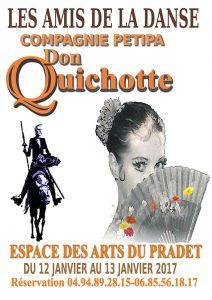Affiche Don Quichotte 2017