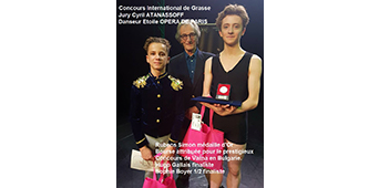 Concours international de Grasse 2017