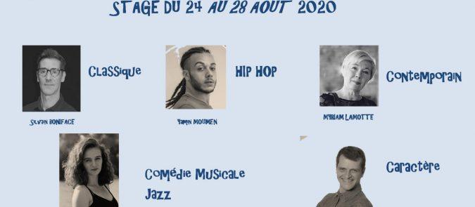 Stage  du 24 au 28 Aôut 2020