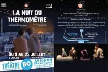 Envol :Mélanie DUFRIER /LA NUIT DU THERMOMETRE